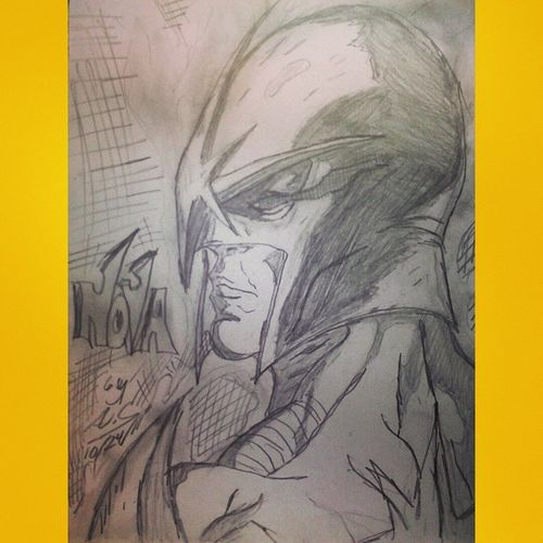 Power of the nova force!! Marvel NOVA RichardRider GaurdiansOfTheGalaxy ArtWork Portrait Sketch Pencil
