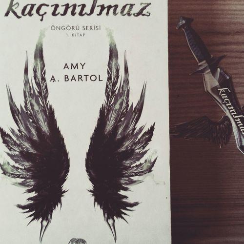 Dört gözle beklediğim kitabım sonunda geldi :) :)) Kaçınılmaz Book