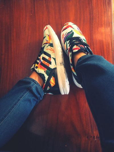 New shoes Zxflux BinhDuong Enjoying Life AdidasLover❤ MyFavorite  Giày