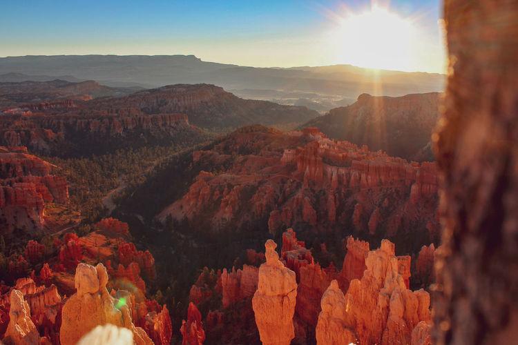 Bryce Canyon Rock Red Rocks  Canyon USAtrip Nature Sunset Travel