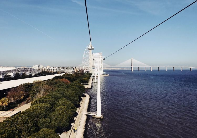 New part of Lisbon - Portugal