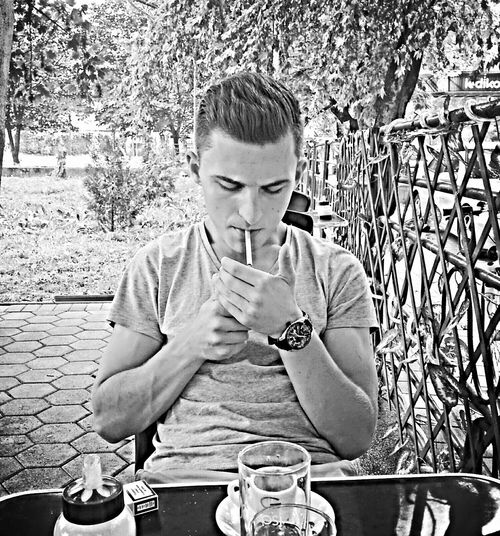 Smoking Coffee Time Niceday