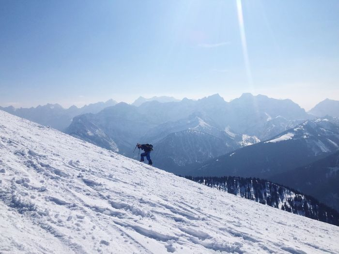 Heavy Snow Skitouring Ski Touring Austria Alps Winter Splitboard Hiking Shades Of Winter Be Brave