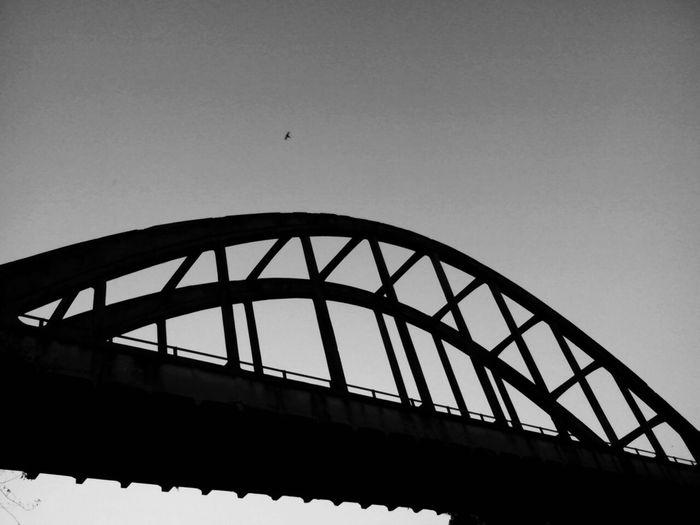 Amazing Architecture Indonesian_allshots Bridge View Taking Photos Silhouette Taking Photos Black And White Photography