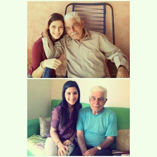 Meu amor, meu pai, meu avo, meu herói, meu exemplo. Teamo Love Av ô Fiel companheiro :}