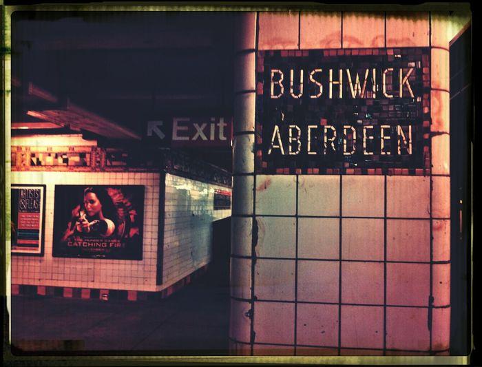 NYC Subway Brooklyn