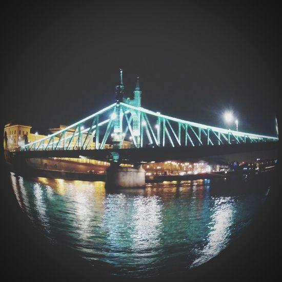 Budapest, Hungary In Love With Budapest Budapestbynight Bridge Budapest Hungary Travelling To Budapest