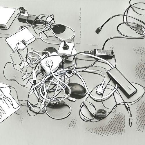 No People Indoors  Cables Kabelsalat Kabel Prisma Prisma App