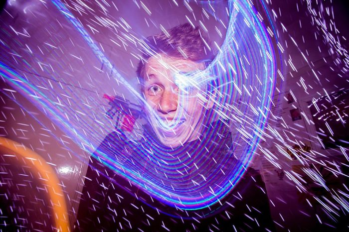 Smile Light Colour Long Exposure Party Partying Happy Boy Hanging Out Hazmus