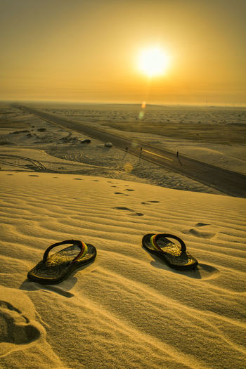 Beauty In Nature Desert Khobar Landscape Life In KSA Lost In The Desert Nature No People Outdoors Sand Sand Dune Sun Fresh On Eyeem
