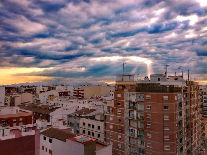 Sky Built Structure Sunset Architecture City Dramatic Sky Building Exterior No People Outdoors Urban Skyline Cityscape Nature Day EyeEmNewHere