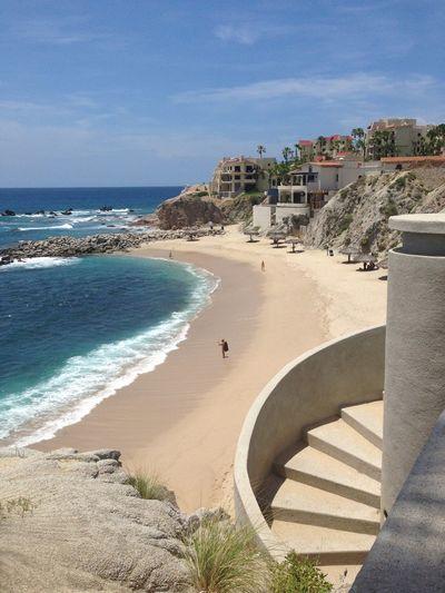 Heading to the Beach.. Cabo San Lucas Beachphotography Staircase
