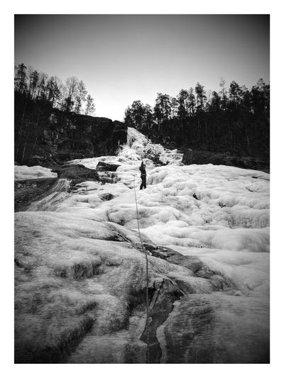 Iceclimbing Outdoors Nature First Eyeem Photo