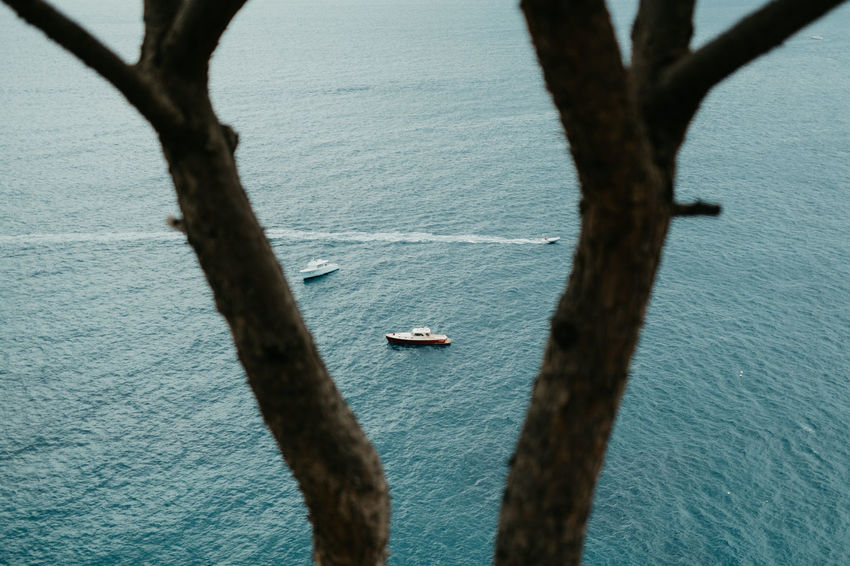 First Eyeem Photo Positanocoast Positano Italy Costa Amalfitana Befree Amalfi  Amalfi Coast Trees Water Sea Ocean Boats