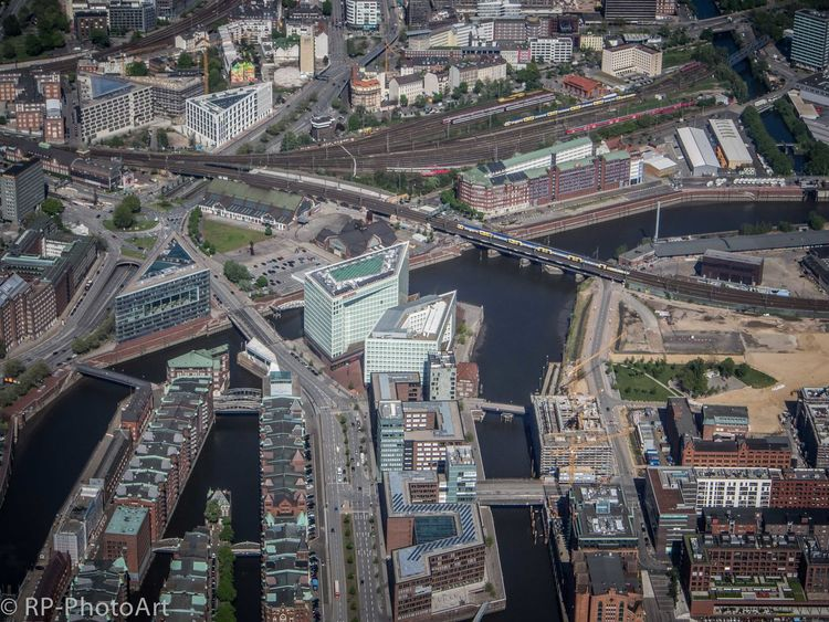 The Changing City Hamburg Hafencity Speicherstadt UNESCO World Heritage Site Construction Cranes I Love My City Cityscapes JU-52