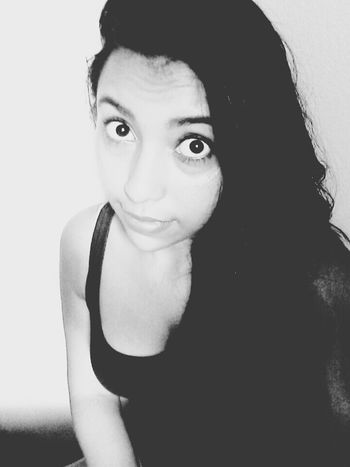 olhos pequenos haha Black And White That's Me