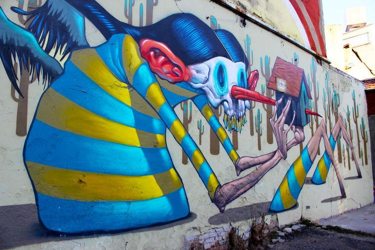 Angel Art Blue Bulgaria Colorful Day Graffiti Graffiti Art Graffiti Wall Graffitiporn Multi Colored No People Sofia Street Art Streetart Streetphotography Surrealism Surrealist Art