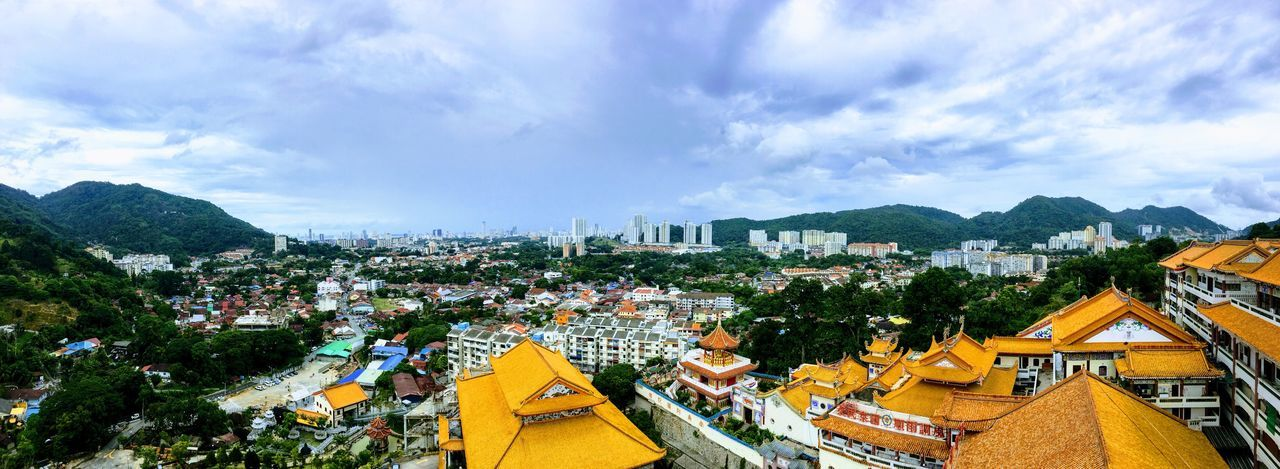 View of Penang Penang Malaysia Cloud - Sky Sky Architecture Building Exterior Built Structure Nature Building