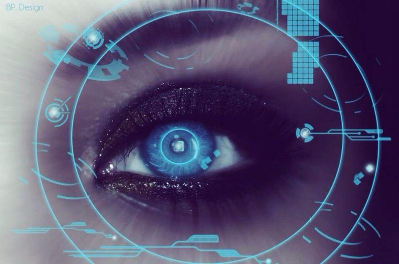 W O R K Vision Du Futur Design Photoshop Eyes Futuristic Bpdesign Retouch Photography