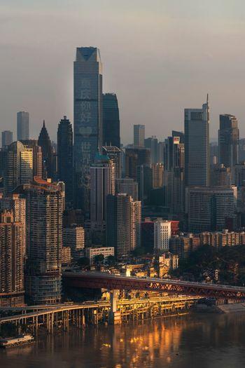 China urban business district