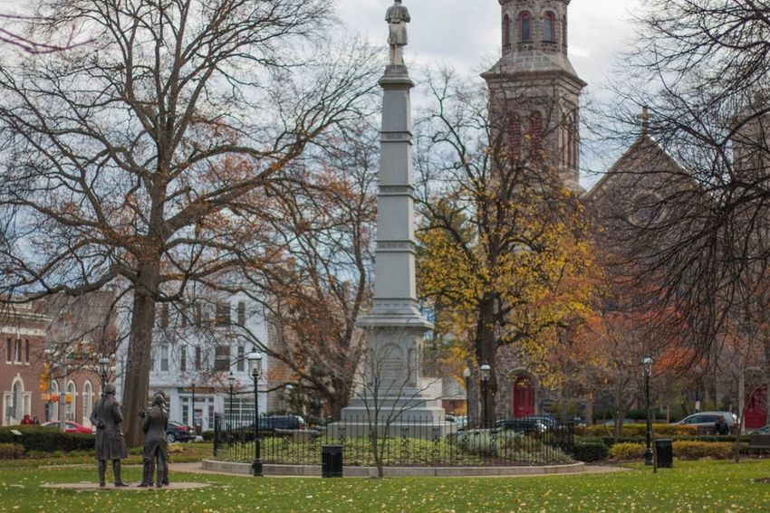 Morristown Green Morristown Nj Park Statue New Jersey