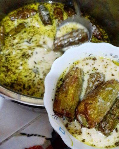 شيخ المحشي .. شيخ الشباب 😍 تصوير 📷 @ayhm_abdulwli جمعة_مباركة ____________________ Syria  Food Ymm سوريا أكلة_شامية أكل محشي شيخ_المحشي