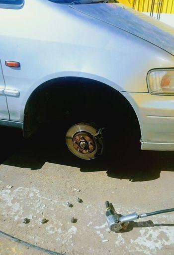 Car Flat Tire Mecanicien