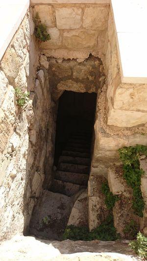 Kur Castle stairway Architecture Edifice Historic History Kur Castle Palestine Stairway Tulkarm