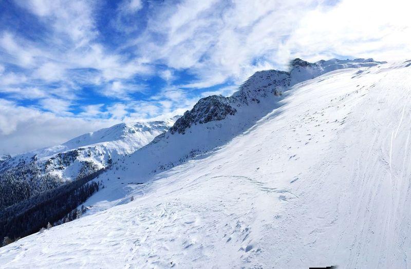 Ski Day! ❄️☀️❄️? Valais Snow ❄ Montagne Panorama Skiing Paysage Mountains Winter Hiver