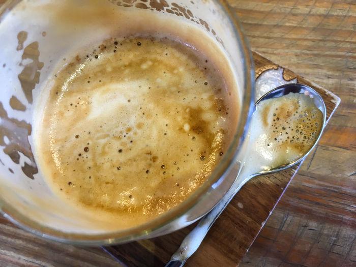 Half coffee cup
