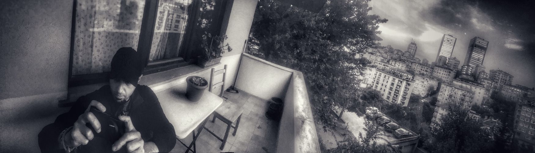 Istanbul Mate At The Friends House Hdrlook Blackandwhite Blackandwhite Photography Panoramic Black And White Friday