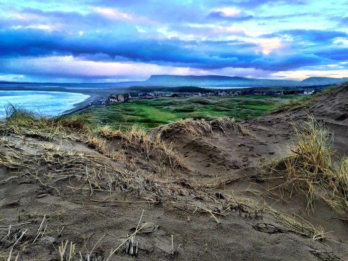 A Birds's Eye View Strandhill Dune Sligowhoknew Seascape
