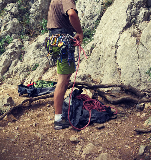 Rock climbing Adventurous Climber Climbing Climbing Rocks Cragsman Extreme Sports Fun Sports Outdoor Activity Outdoor Sport Rock Climber Rock Climbing Sports