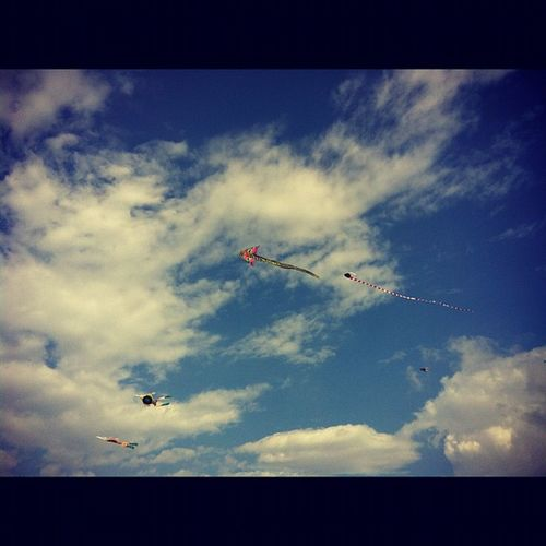 People in SriLanka seem to love kites Colombo Flyingkites Travel adventure picoftheday instagood