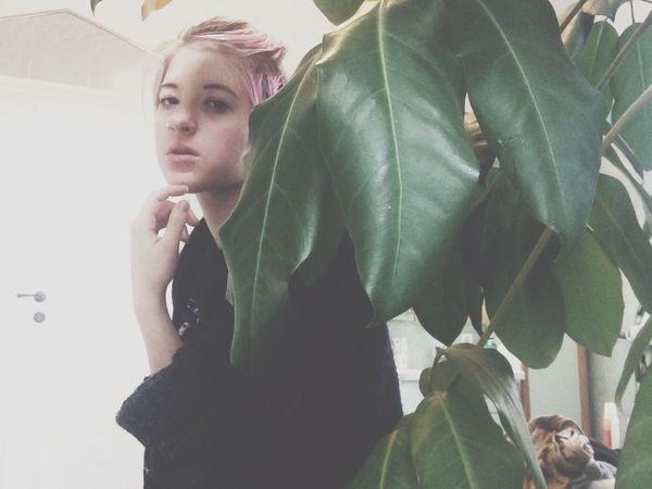 Selfportrait Plants