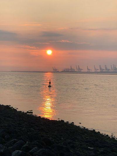 Sky Sunset Sea