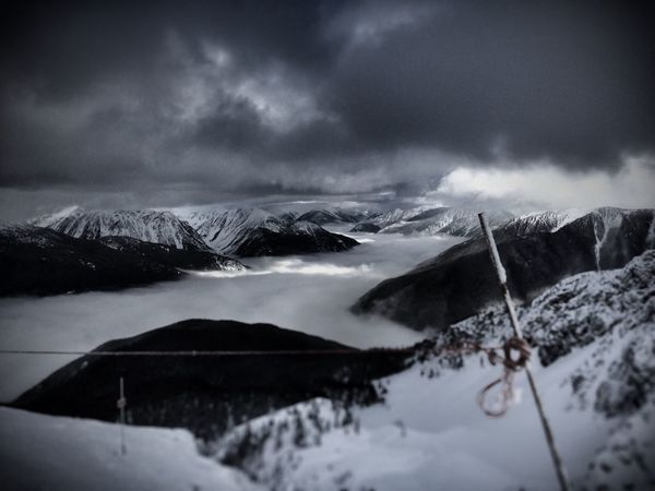 Backcountryskiing Off Piste Winter Beauty In Nature Mountain Range Alpine Skiing Alpine Scenery Winter Sport Adventure Landscape Non-urban Scene Canadian Rockies  Tranquility Mountain Scenics Cloud - Sky Epic Adventures Ski Trip EyeEmNewHere