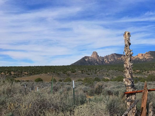 Ute Mountain.. Sky Mountain Tranquility Nature Cloud - Sky Scenics Tranquil Scene Outdoors Landscape Day Non-urban Scene Semi-arid Geology No People Beauty In Nature Physical Geography Grass History