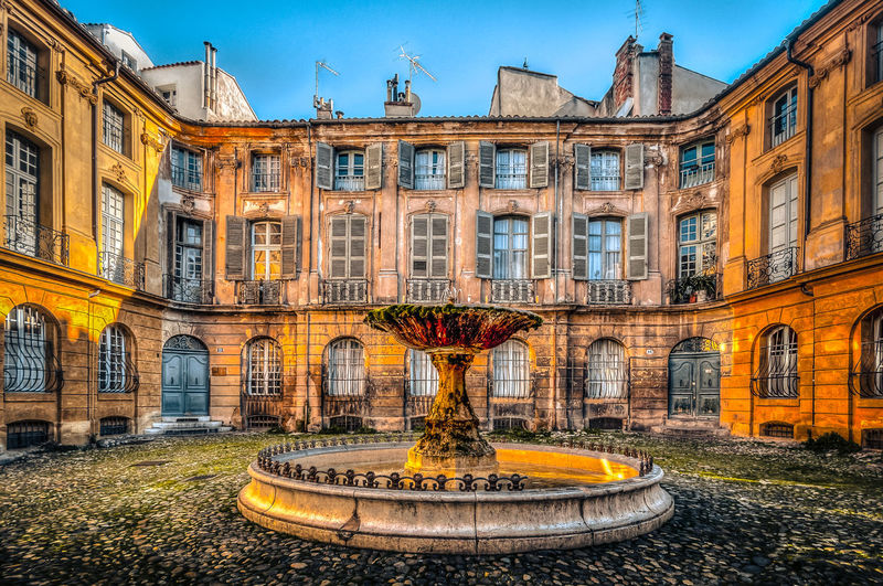Architecture Building Exterior City Exterior Fountain HDR Hdr_Collection No People Old Buildings Wide Angle