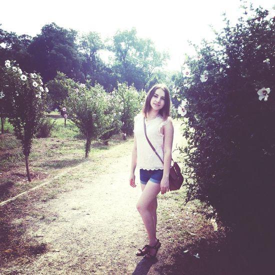 Morning Walk GoodMorning⛅ That's Me Beautiful ♡