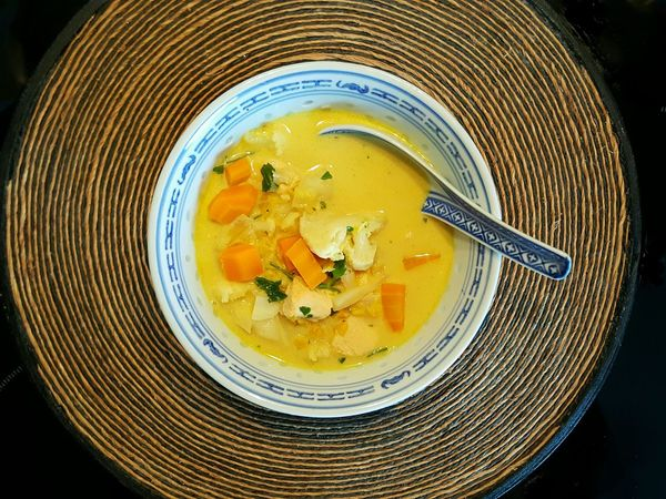 Curry Soup Soup Tasty Foods Homemade Soup Indishfood Indish Soup Coconut Milk Based Soup Chicken Soup Indish Food Healthy Eating Healthy Food Tasty Bowl Of Soup Food Food And Drink Foodporn Fine Art Photography