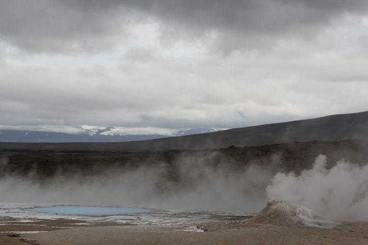 Cloud Cloud - Sky Clouds Day Fog Geology Geysir Hot Hot Spring Hotpot Iceland Iceland Memories Iceland Trip Iceland_collection Island Landscape Mountain Nature No People Outdoors Sulfur