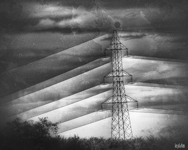"""""""L'imagination connaît la force des mots elle crépite comme de l'électricité sur un câble."""" Alexandre Millon Sky Agriculture Outdoors Day No People Nature Wind Power Wind Turbine Windmill FZ300 Landscape Landscape_photography"""