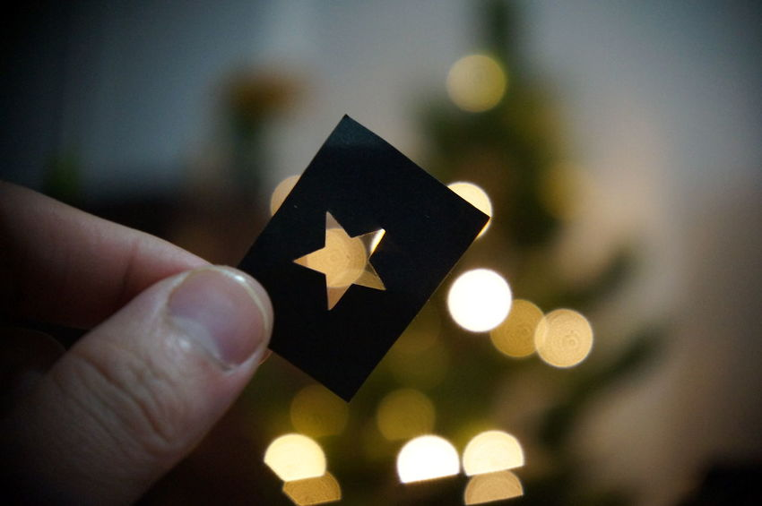 Star! On Paper Christmas Tree Light And Shadow My Best Photo 2014 Depth Of Field Stand Out From The Crowd I'm Trying To Do What's In My Mind Right Now. How You Celebrate Holidays Paper View Best Christmas Lights Handmade For You The Still Life Photographer - 2018 EyeEm Awards The Creative - 2018 EyeEm Awards
