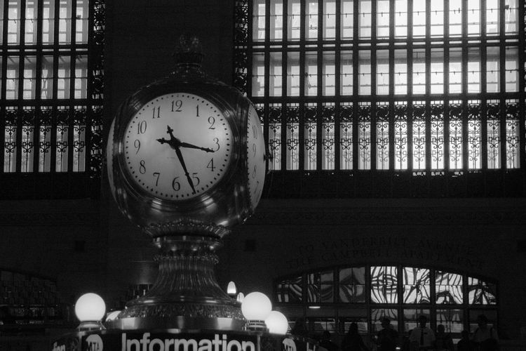 Clock Time Clock Face City Instrument Of Time Travel Building Railroad Station