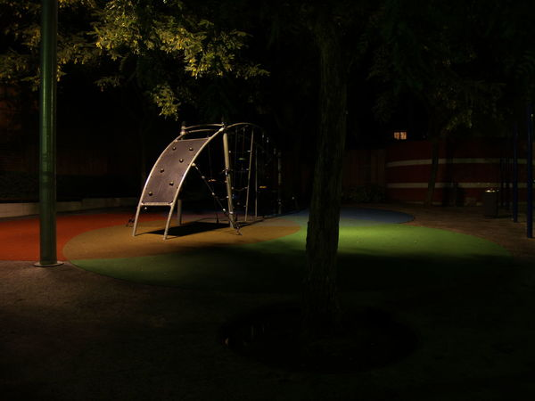 Absence Childhood Night No People Outdoor Play Equipment Park Park - Man Made Space Playground Tranquility People And Places