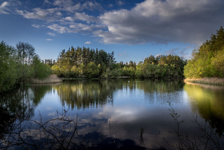 Lake in