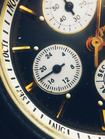 0-24 1-60 Hour Hand Macro Macro Beauty Months Philip Persio Time Watch