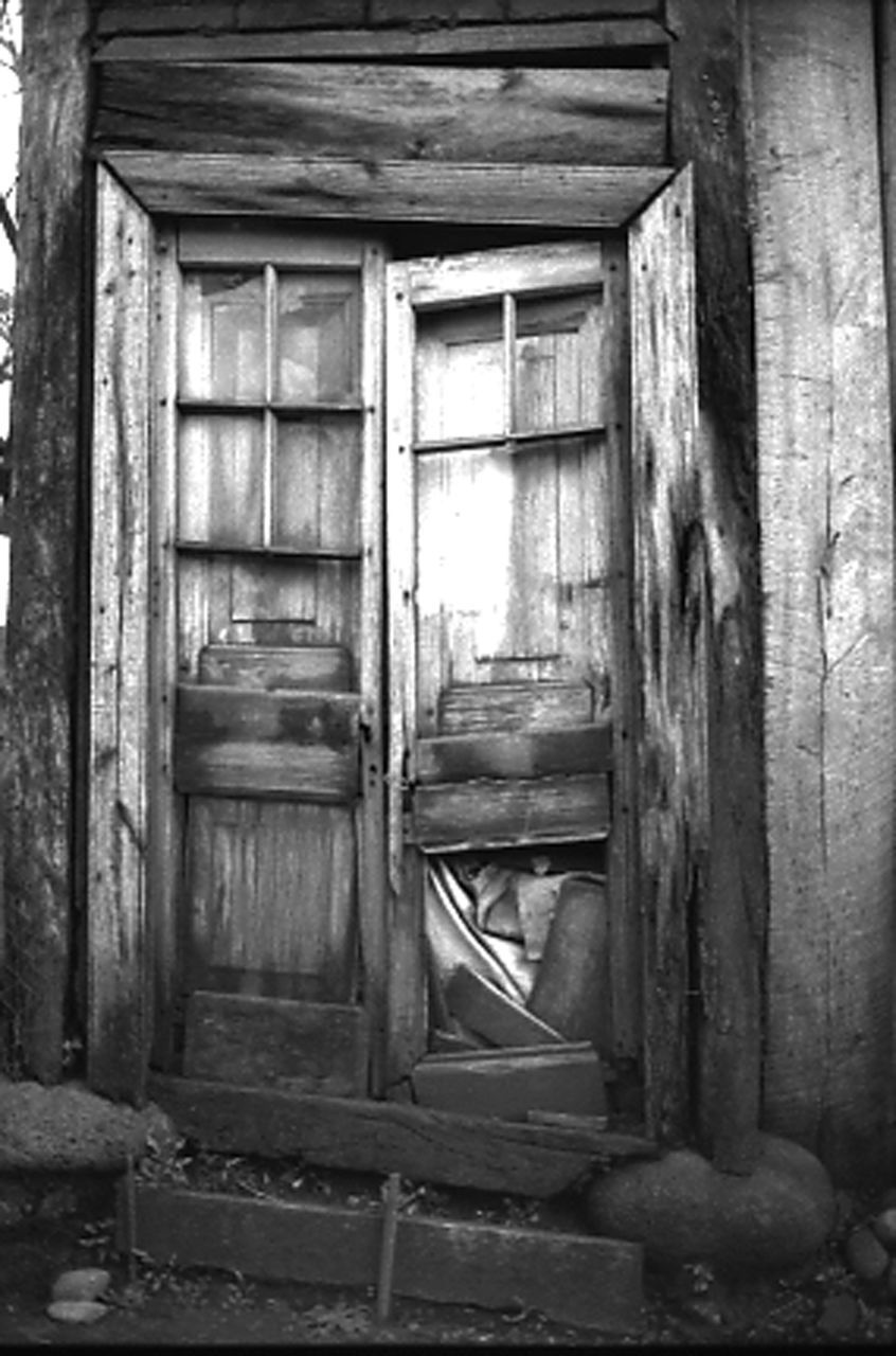 door, architecture, built structure, no people, abandoned, weathered, damaged, building exterior, wood - material, day, outdoors, close-up