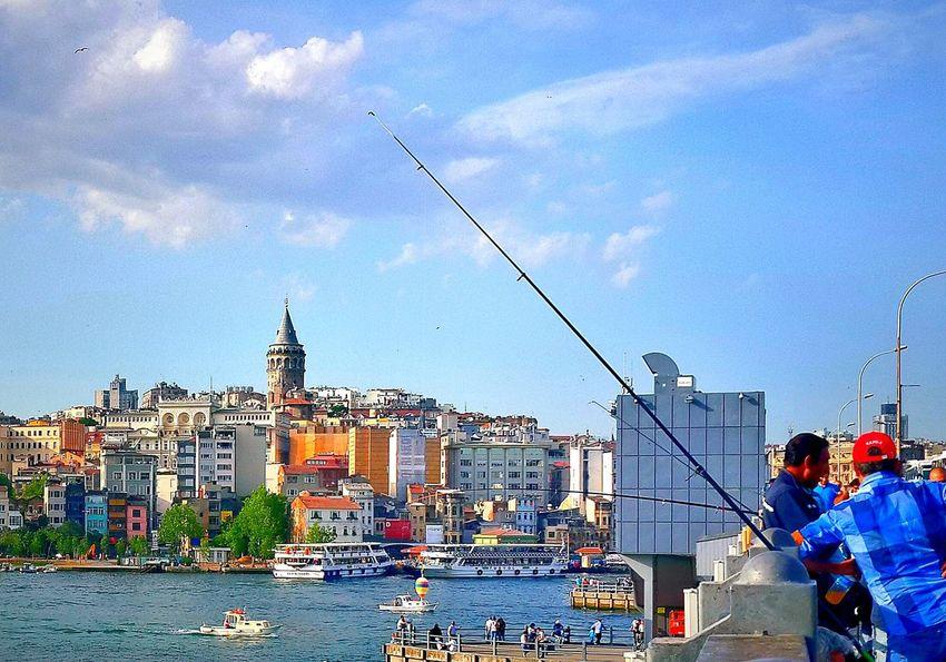 Eminönü/ İstanbul Türkiye Galatakulesi First Eyeem Photo Turkey Istanbul
